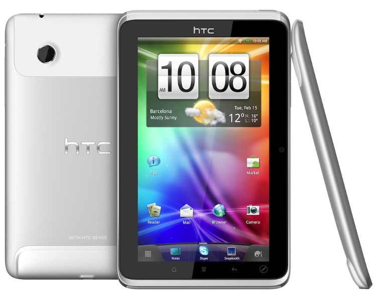 New Tablet HTC
