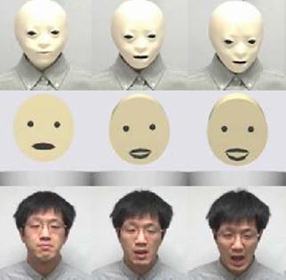 Robot Explores Human Facial Expressions