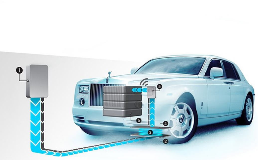 Rolls Roys Phantom Fully Electric Concept Vehicle