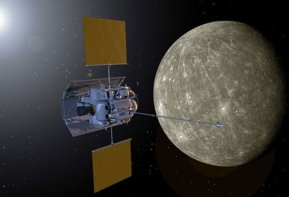 Earth Messenger Spacecraft Reaches Mercury Orbit