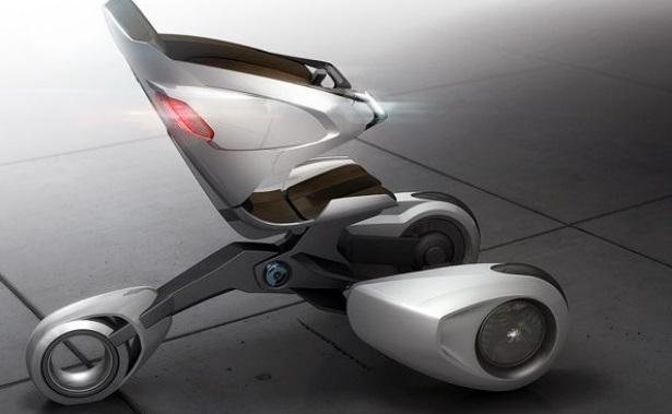 Electric Scooter Concept from Peugeot