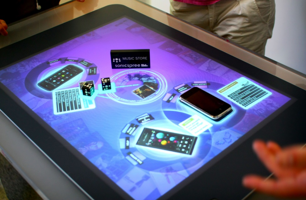 Microsoft Touch Screen Table for Casino