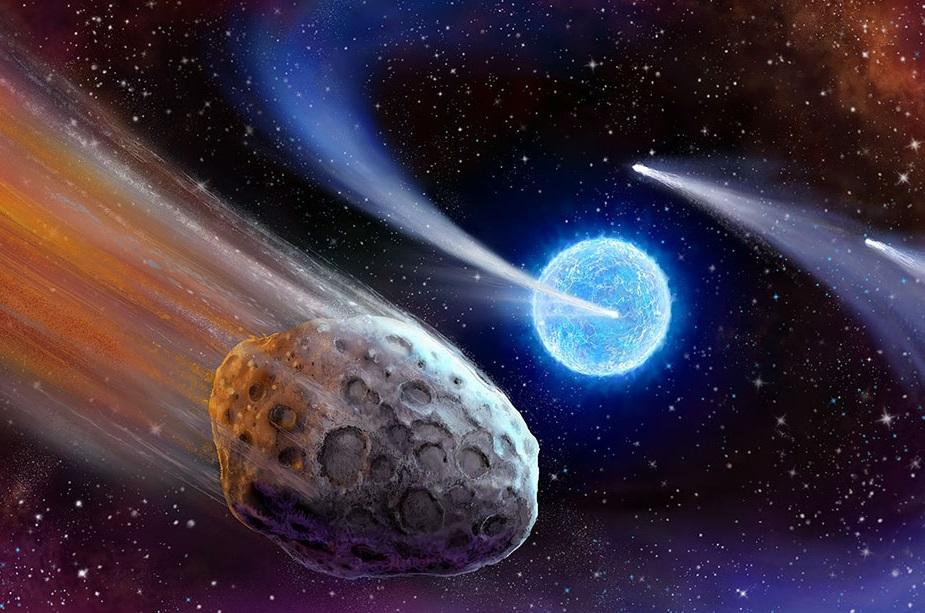 NASA Destroyed Comet Hunter Satellite