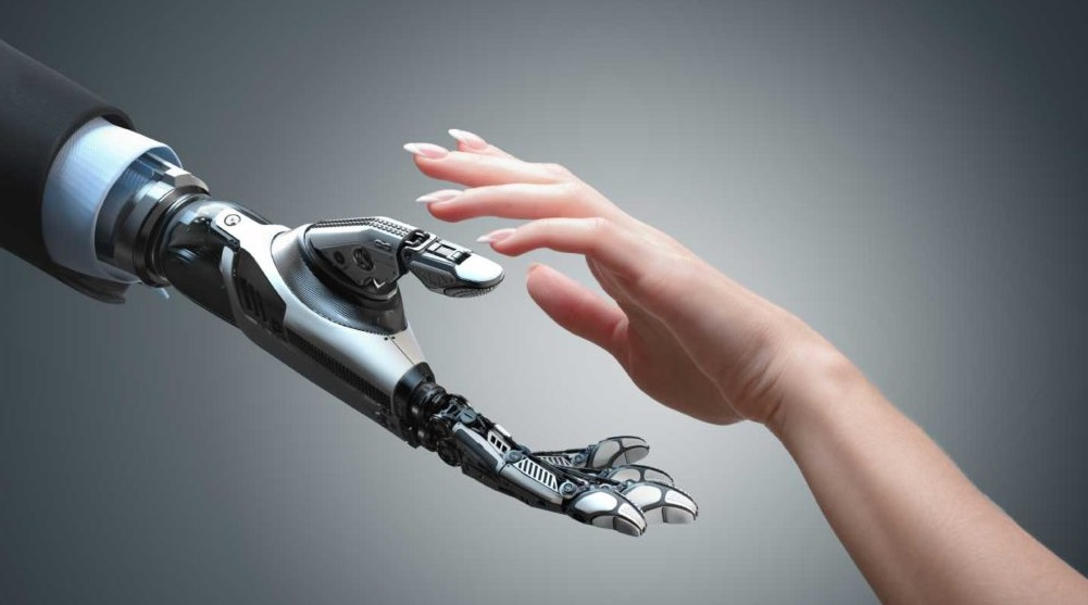 Robotic Hand Can Type Insted of People