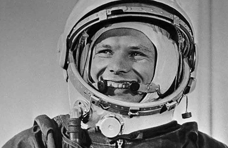 First Man Yuri Gagarin in Space Half Century Ago