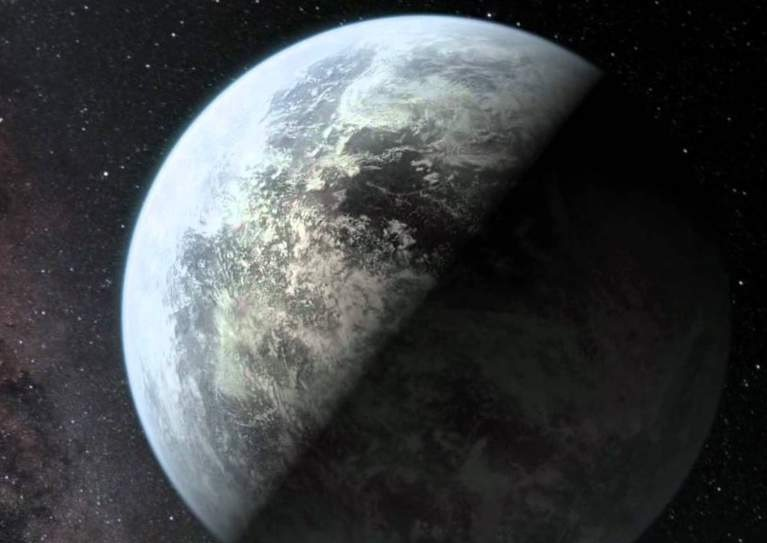 Exoplanet Gliese 581d