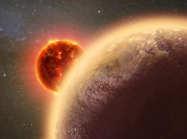 Exoplanet WASP-12b Creates Shock Wave