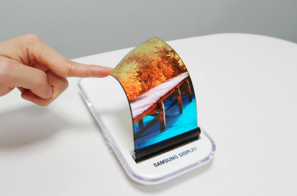 Samsung New Device With the Flexible AMOLED Displays