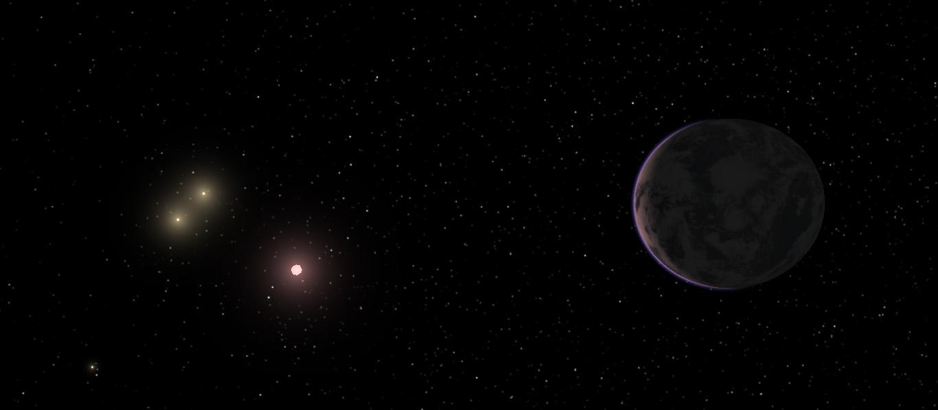 Alien Planet GJ667Cc
