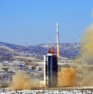 China Launches Long March Rocket With Mapping Satellite