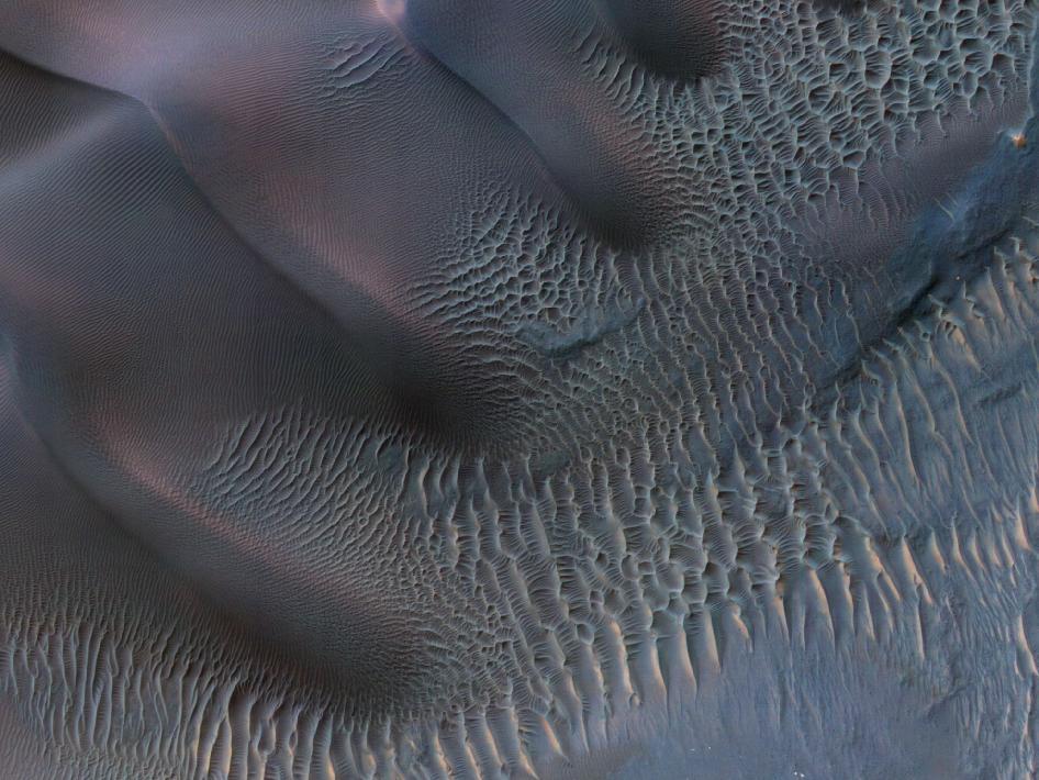 Dunes in Noachis Terra