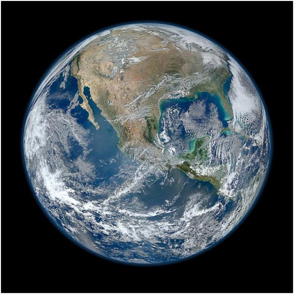 Earth-watching satellite