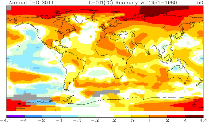 Global Temperature Anomalies