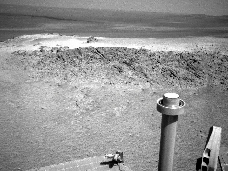 Mars Rover will Spend Winter on Greeley Haven