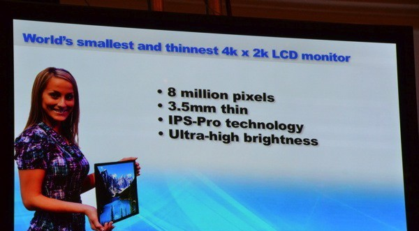 Panasonic Developes Smallest and Thinnest 20-inch IPS Alpha LCD Panel