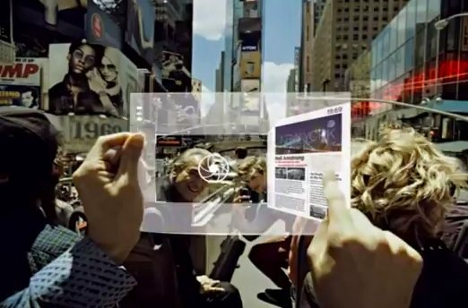 Samsung transparent display