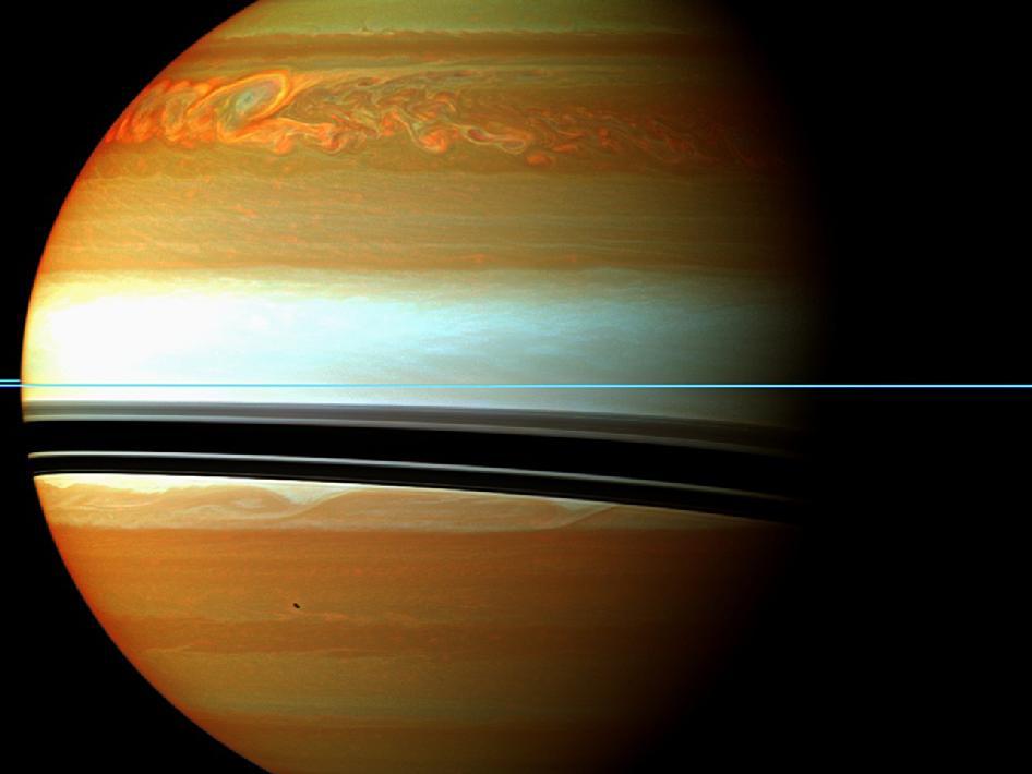 Saturn Storm