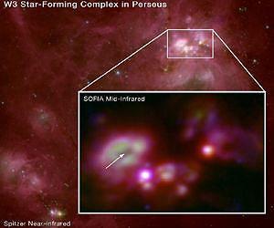 W3A Star Cluster