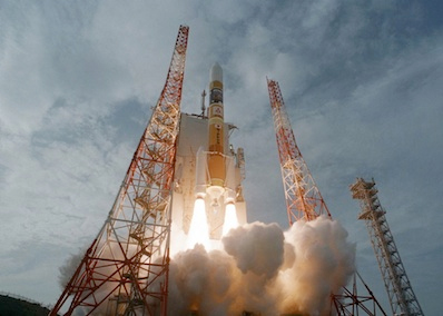 Japan launches rocket