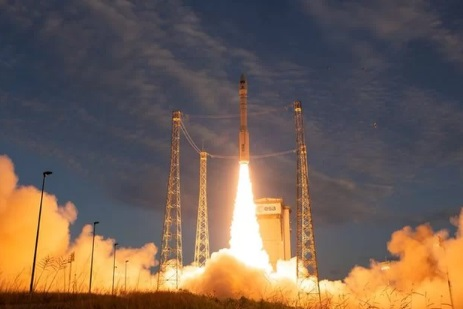 Europe Vega Rocket Successfully Launched