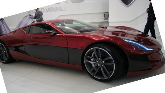 Rimac Automobili New Concept of Electric Car