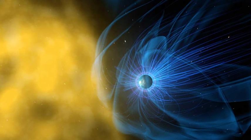 Giant Magnetic Bubbles Around Venus