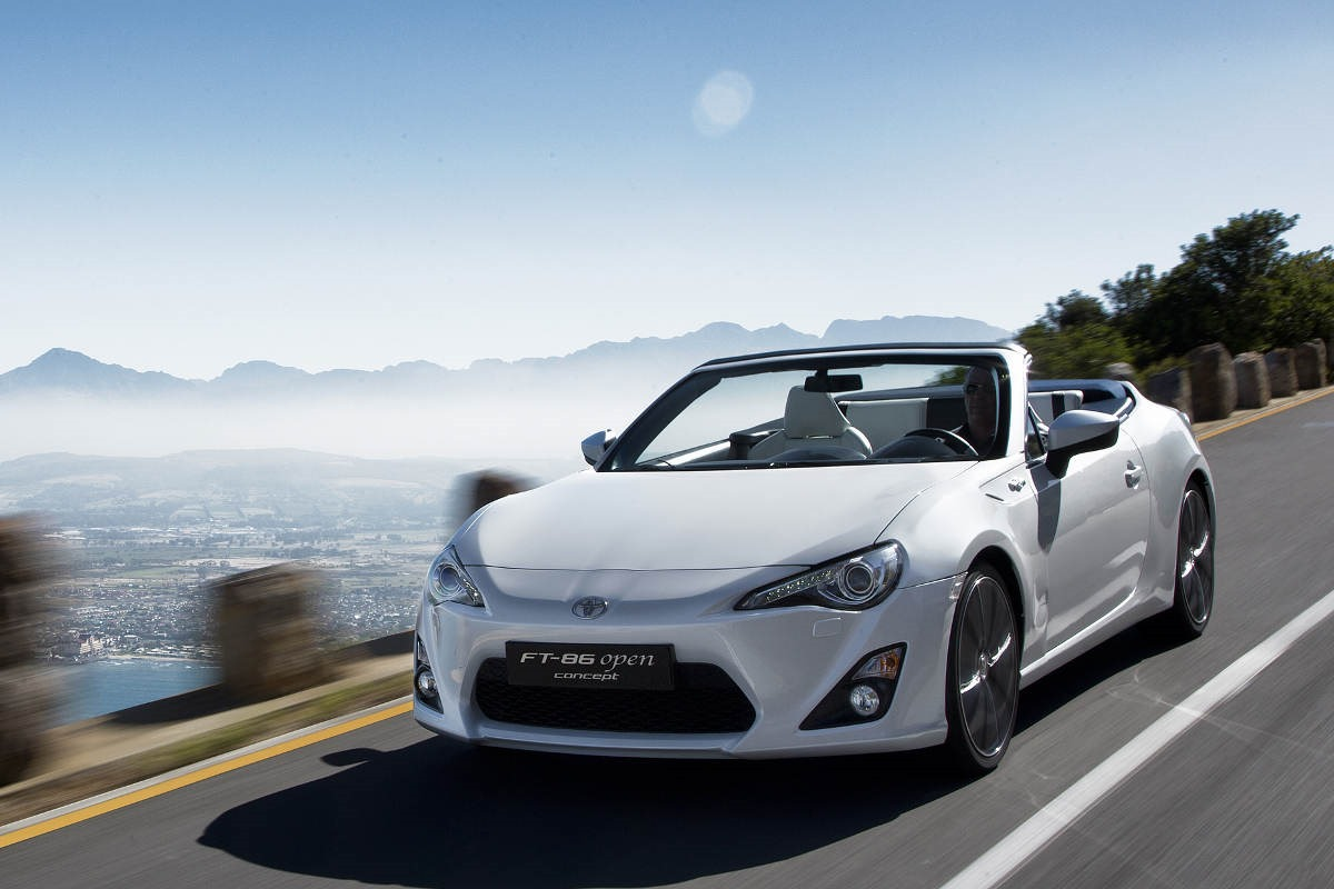 2013 Toyota FT-86 Open Concept exterior