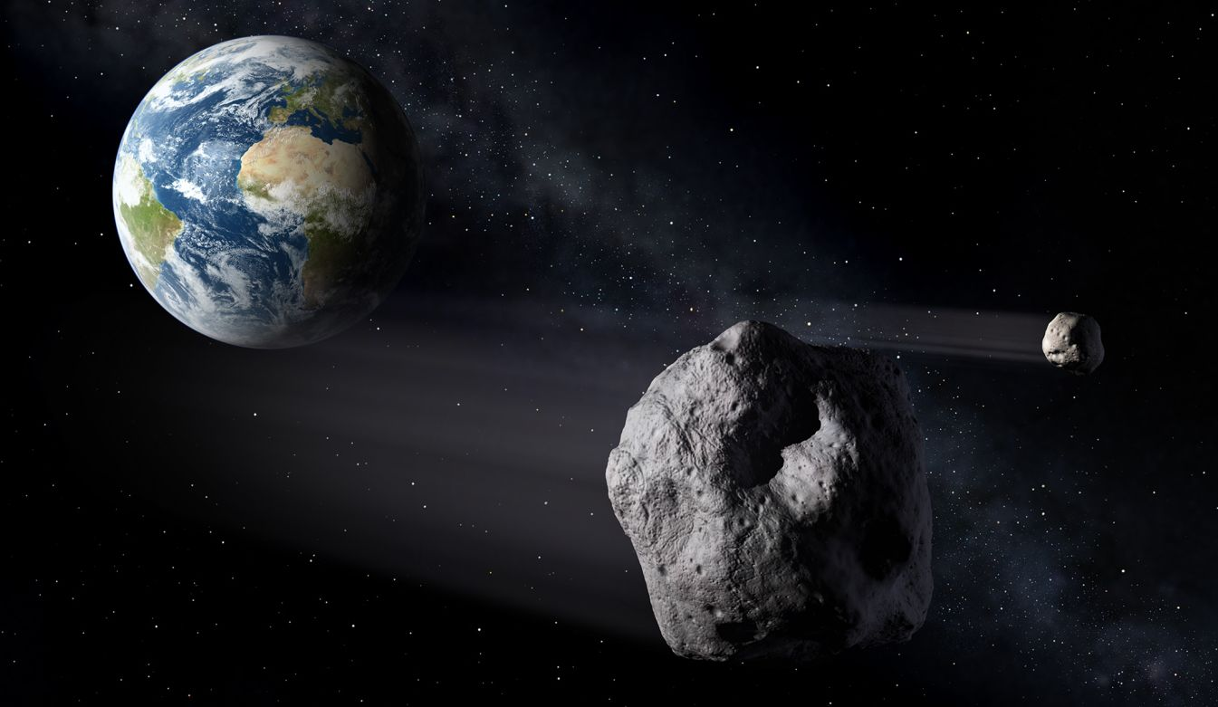 Didymos Asteroid