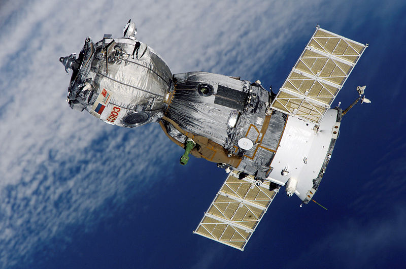 Soyuz Russian spacecraft