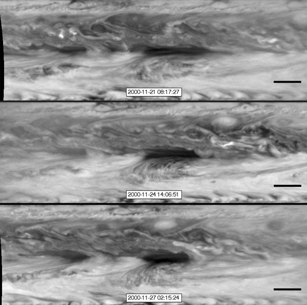 The Hot Spots in Atmosphere of Jupiter