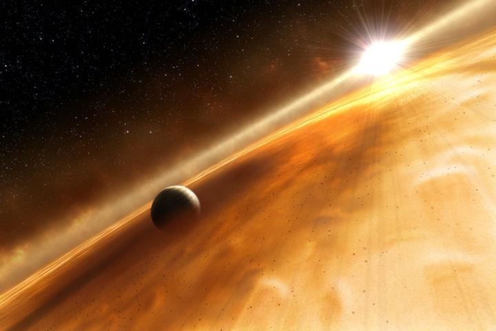Exoplanet HR8799c