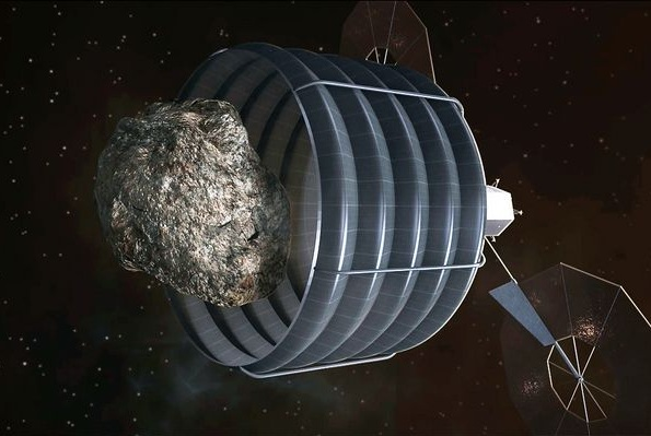 NASA Asteroid catching method