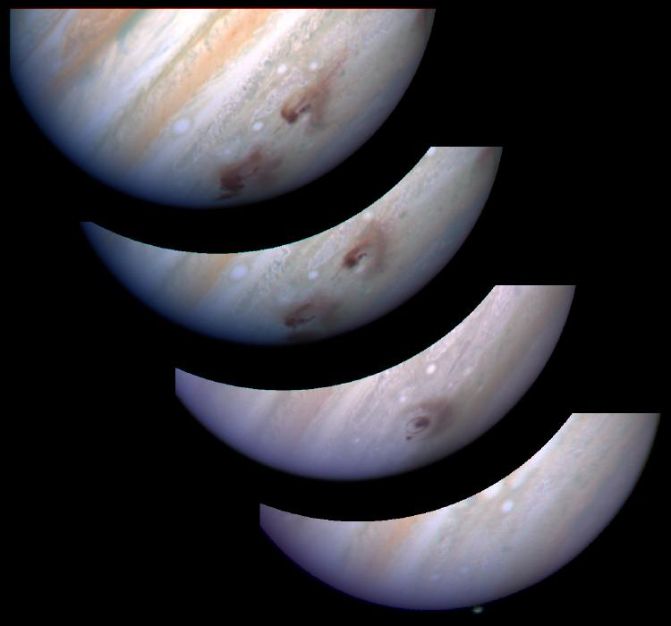 Jupiter Shoemaker-Levy 9 impact