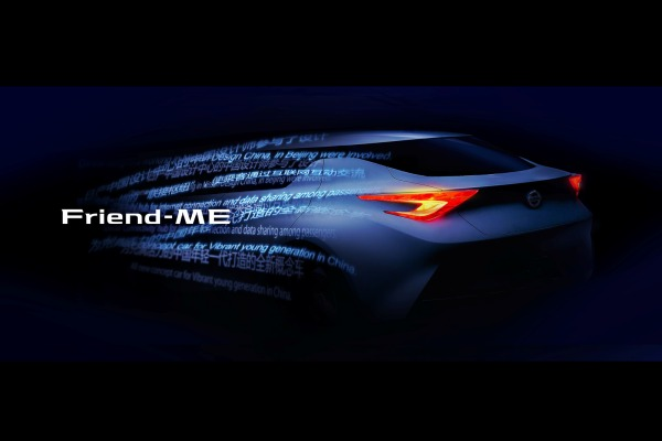 Nissan concept car Friend-ME