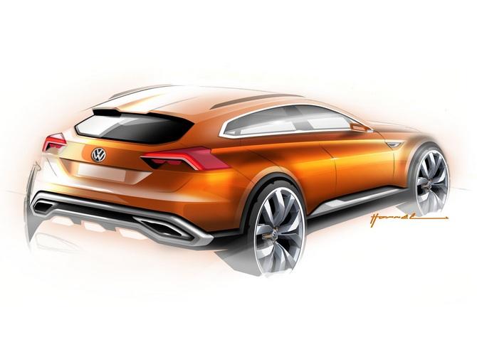 Volkswagen CrossBlue concept car