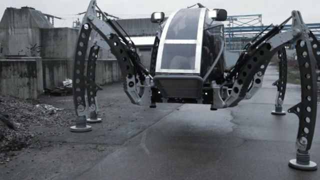 Walking robot Mantis