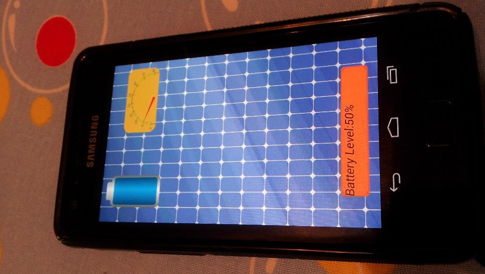 Solar cells integrated display for future Smartphones