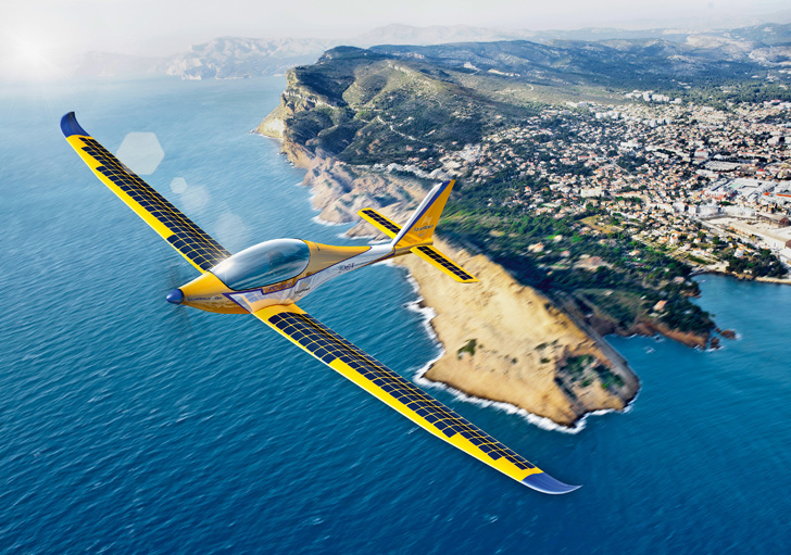 SolarWorld and PC Aero Electric planes