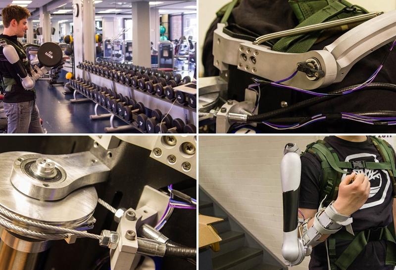 TitanArm exoskeleton