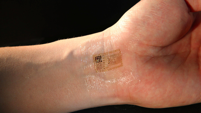 Super sensitive electronic skin
