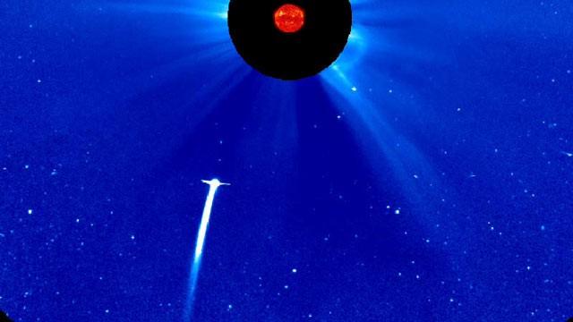 Comet Lovejoy C2011 W3