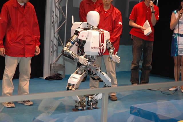 Humanoid robots WABIAN-2R