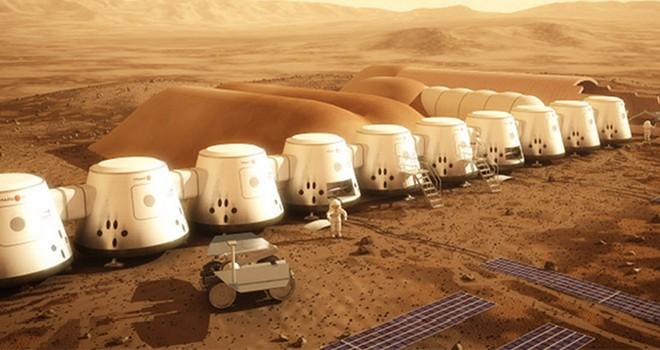 Mars radation