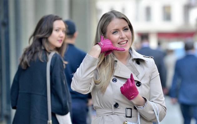 The phone glove