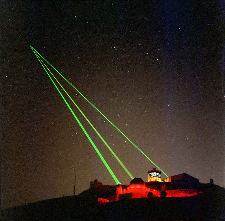 New Interplanetary laser
