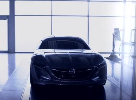 Opel Monza concept car exterior