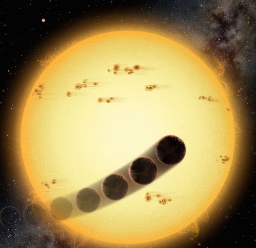 Planet opposite direction of stars spin