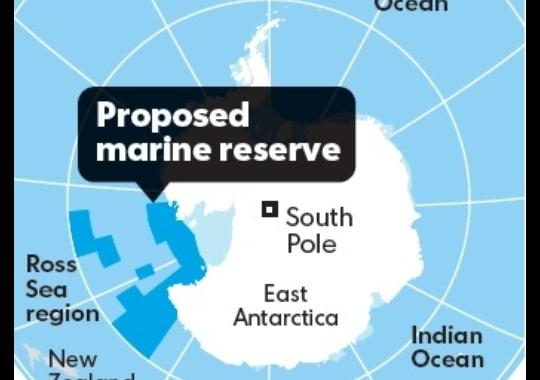 World s largest sea reserve