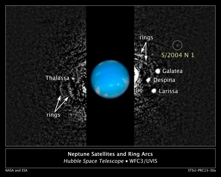 New satellite of Neptune