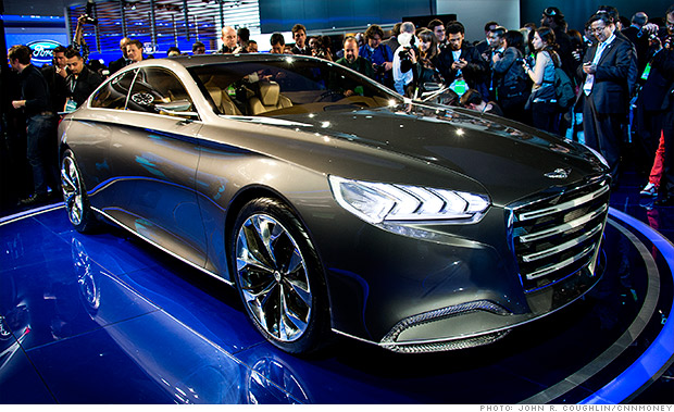 Hyundai HCD-14 Genesis the concept car of year 2013